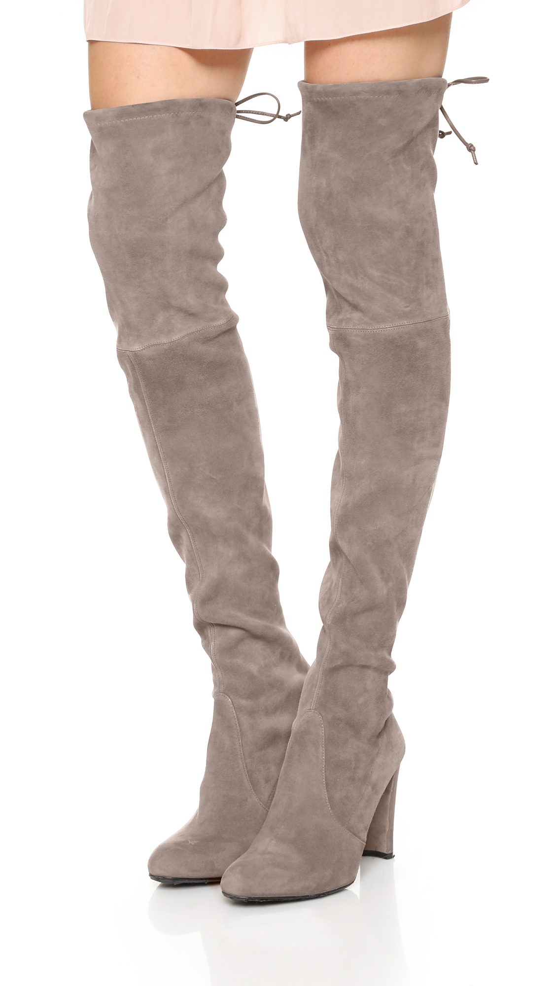 99086d74d094 Stuart Weitzman Highland Over The Knee Boots in Brown - Lyst