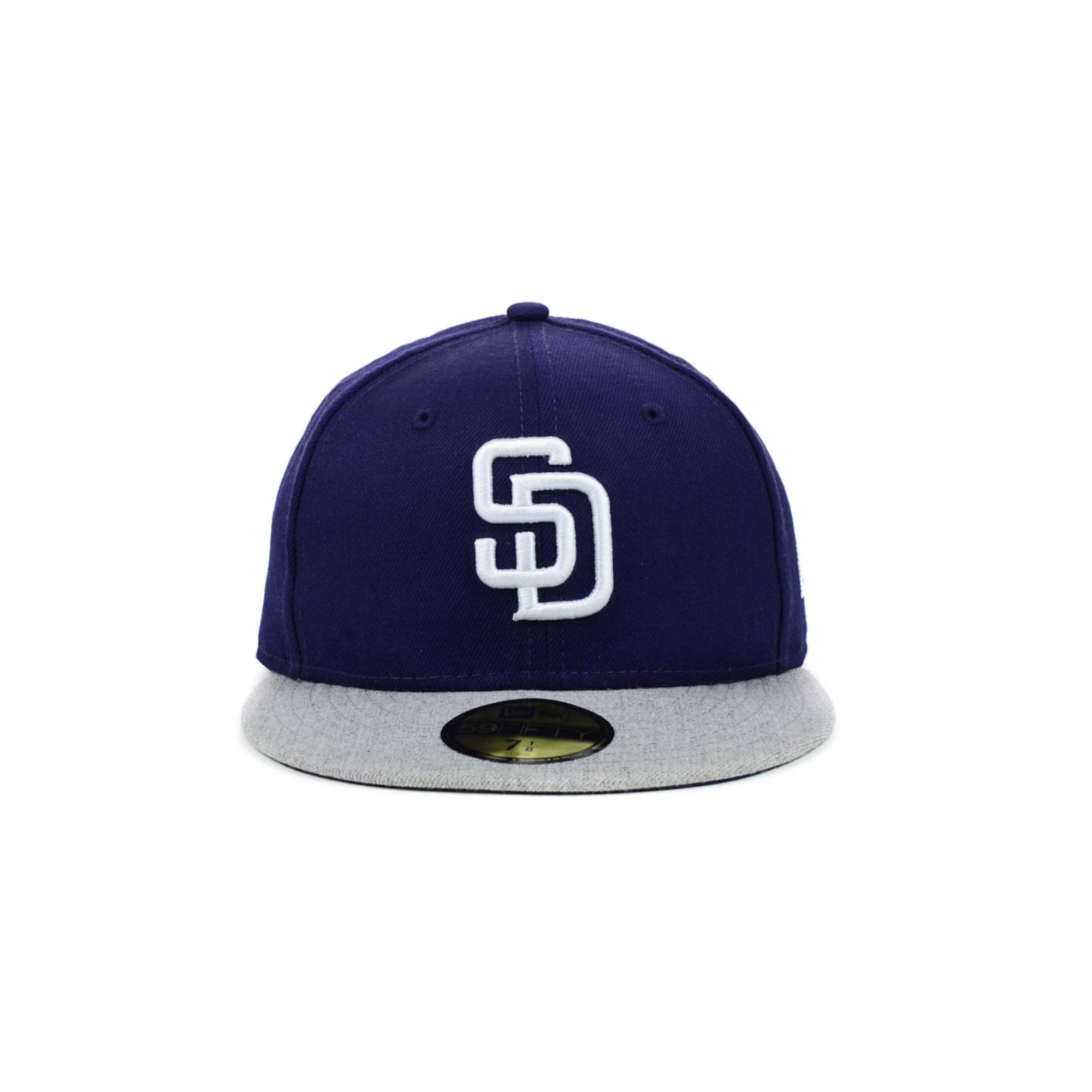 buy online 21615 e9d06 ... reduced lyst ktz san diego padres mlb team heather 59fifty cap in blue  for men 95378