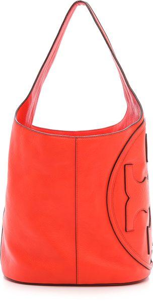 7711e0c074b0 Tory Burch Quilted Mini Bag.Lyst Tory Burch Mini Ella Quilted Tote ...