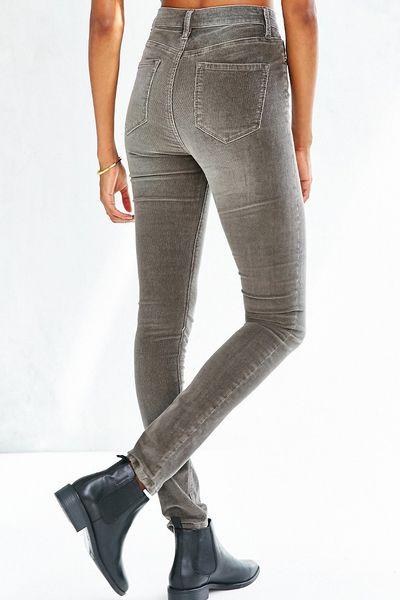 Gray Skinny Jeans Mens