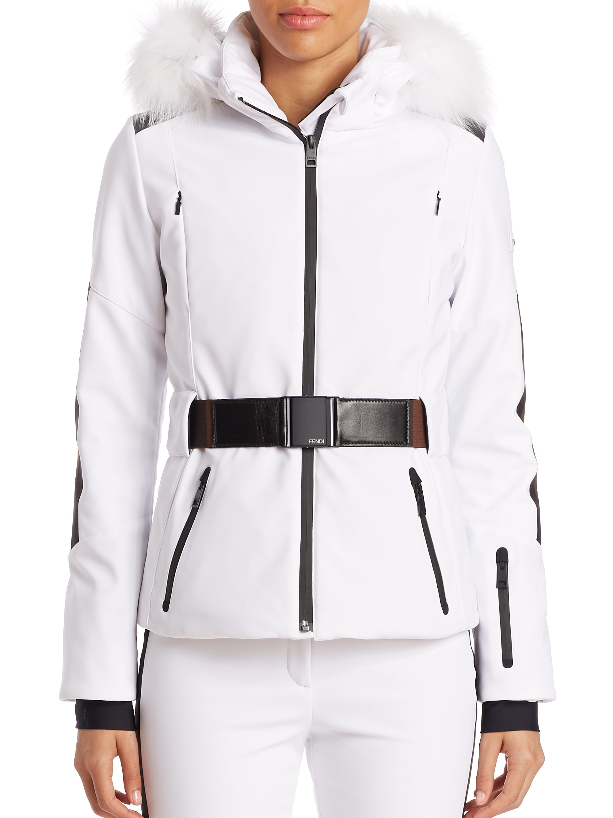 Home Womens Jackets Ski Jackets WOMENS SKI JACKETS Hit the slopes in style whether you're carving up the piste or laying fresh tracks in powder with your perfect high-performance women's ski jacket.