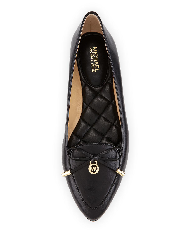 MICHAEL Michael Kors Nancy Bow Leather