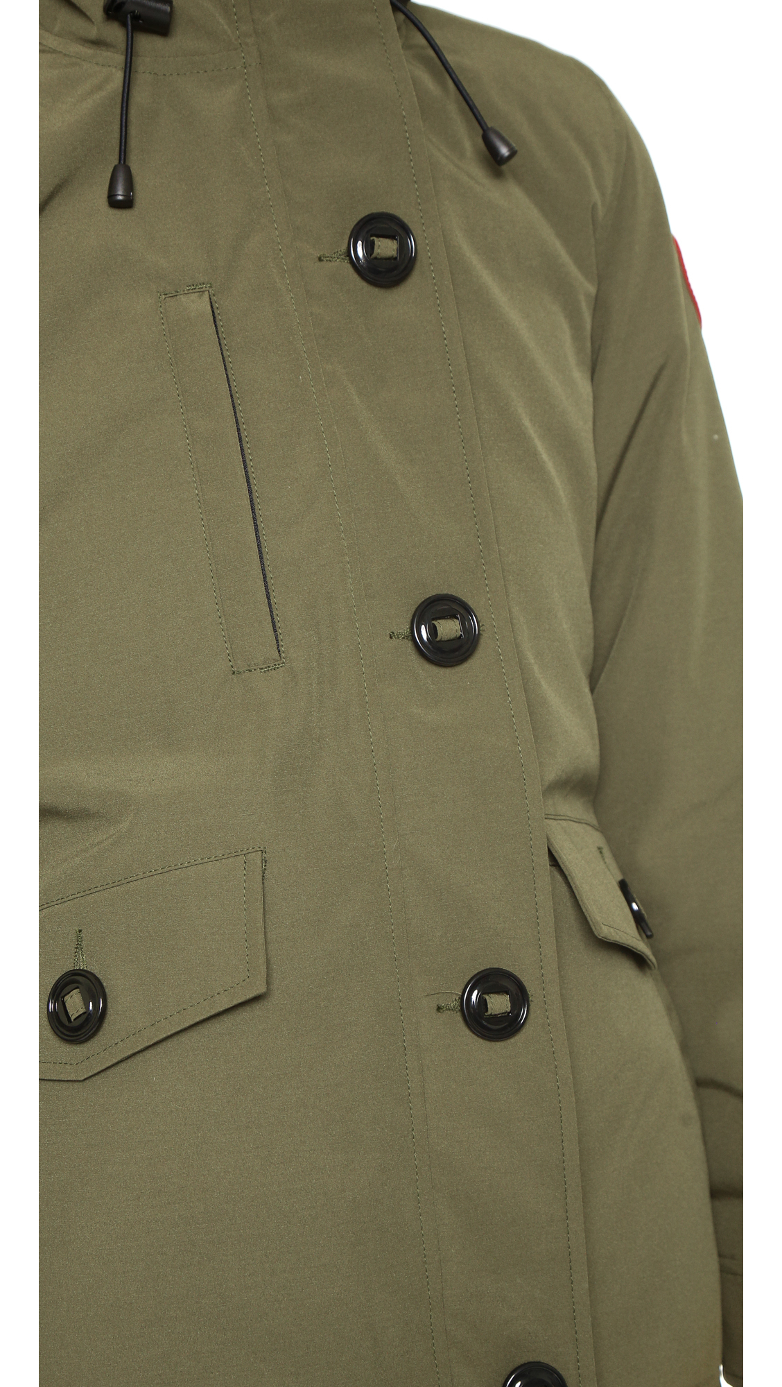 Canada Goose jackets outlet authentic - Canada goose Rideau Parka - Military Green in Green (Military ...