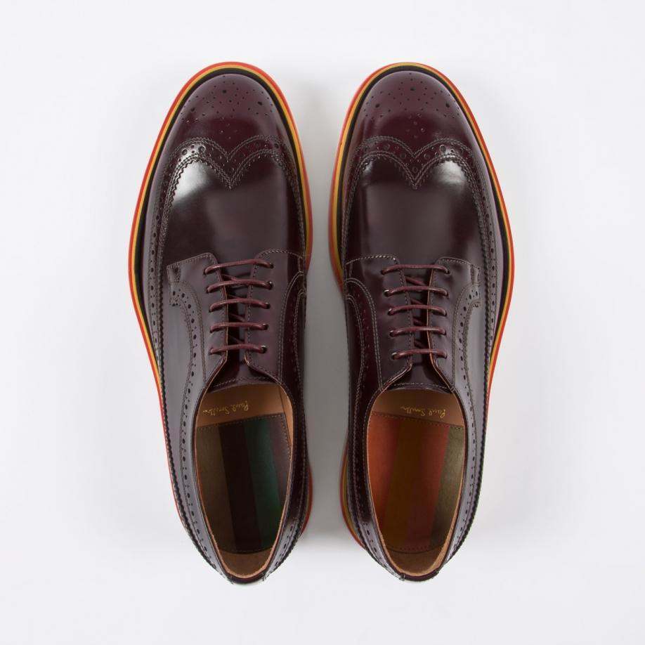 Paul Smith Leather Wingtip Brogues cheap sale low price how much cheap online u10IJKv