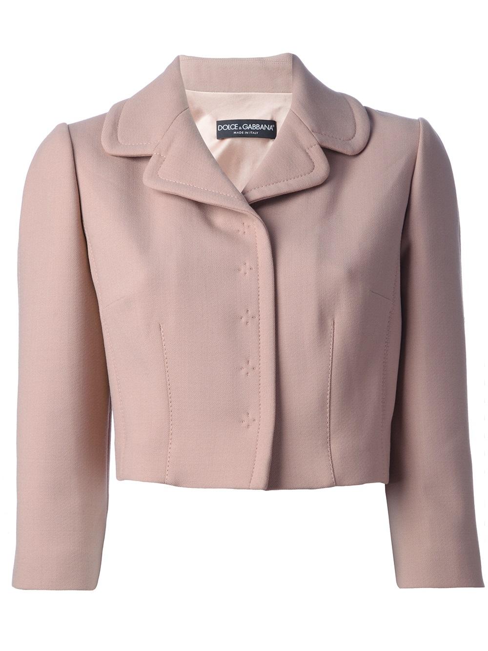Cropped Pink Blazer - Best Blazer 2017