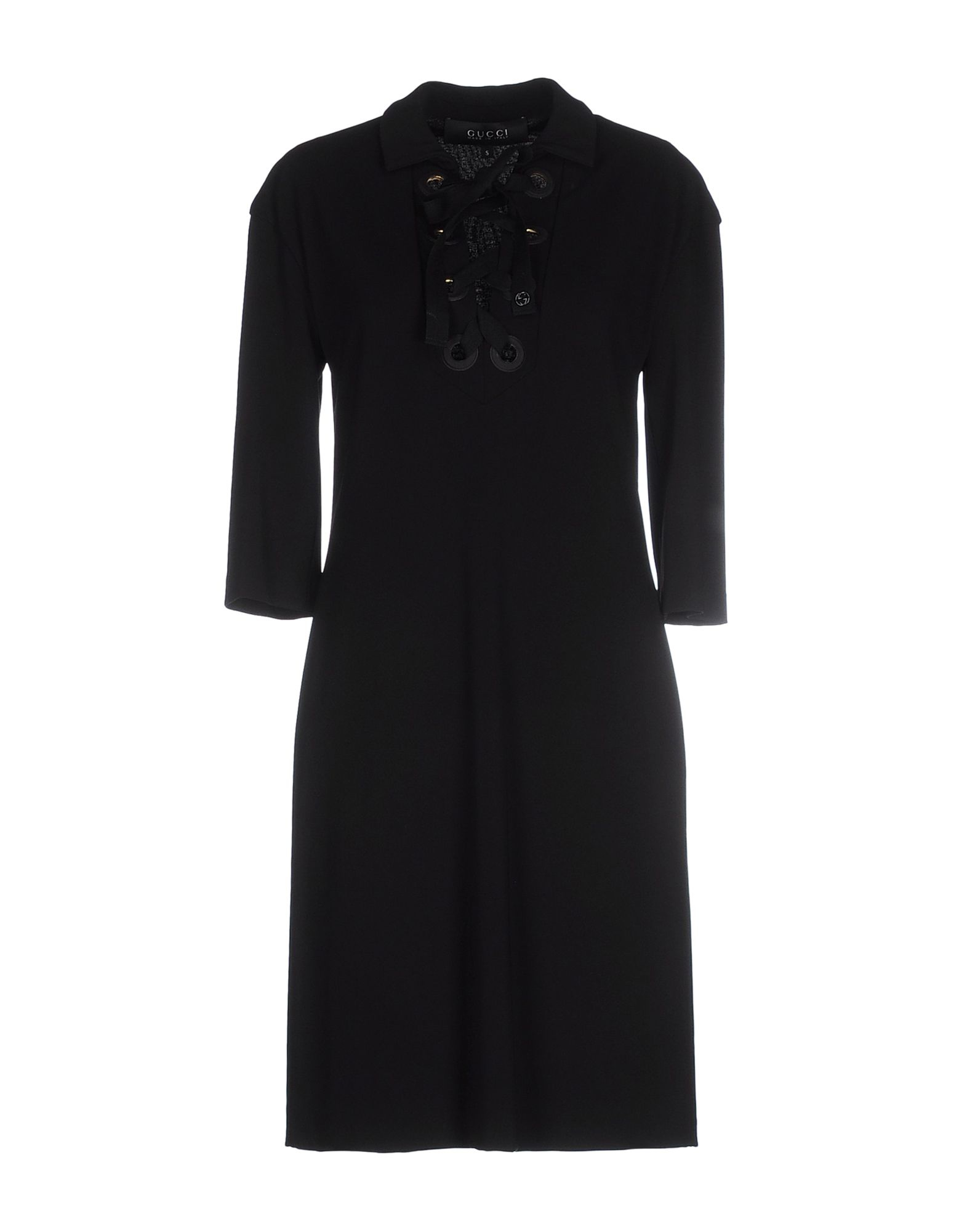 gucci short dress in black lyst