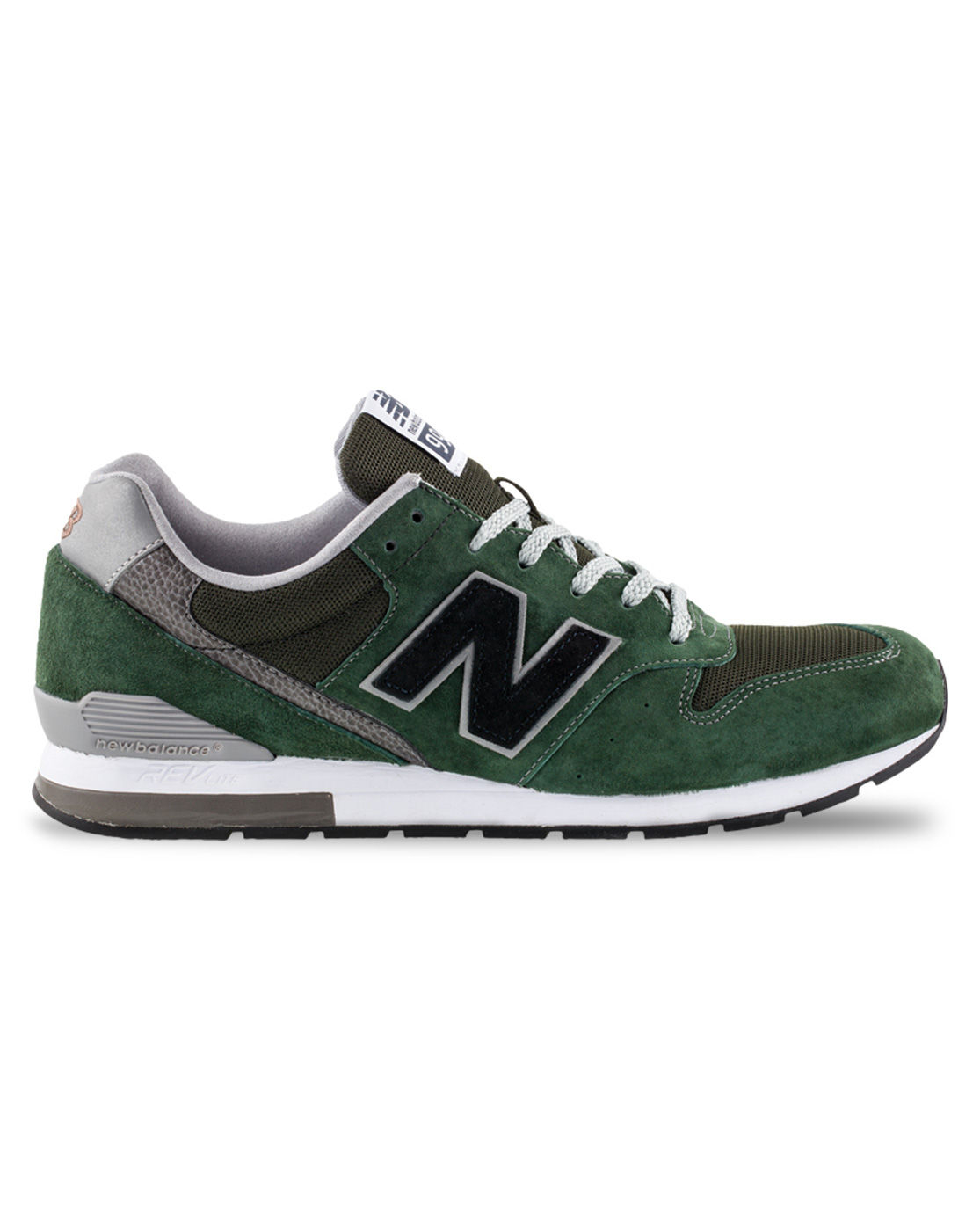 new balance 996 green suede sneakers in green for men lyst. Black Bedroom Furniture Sets. Home Design Ideas