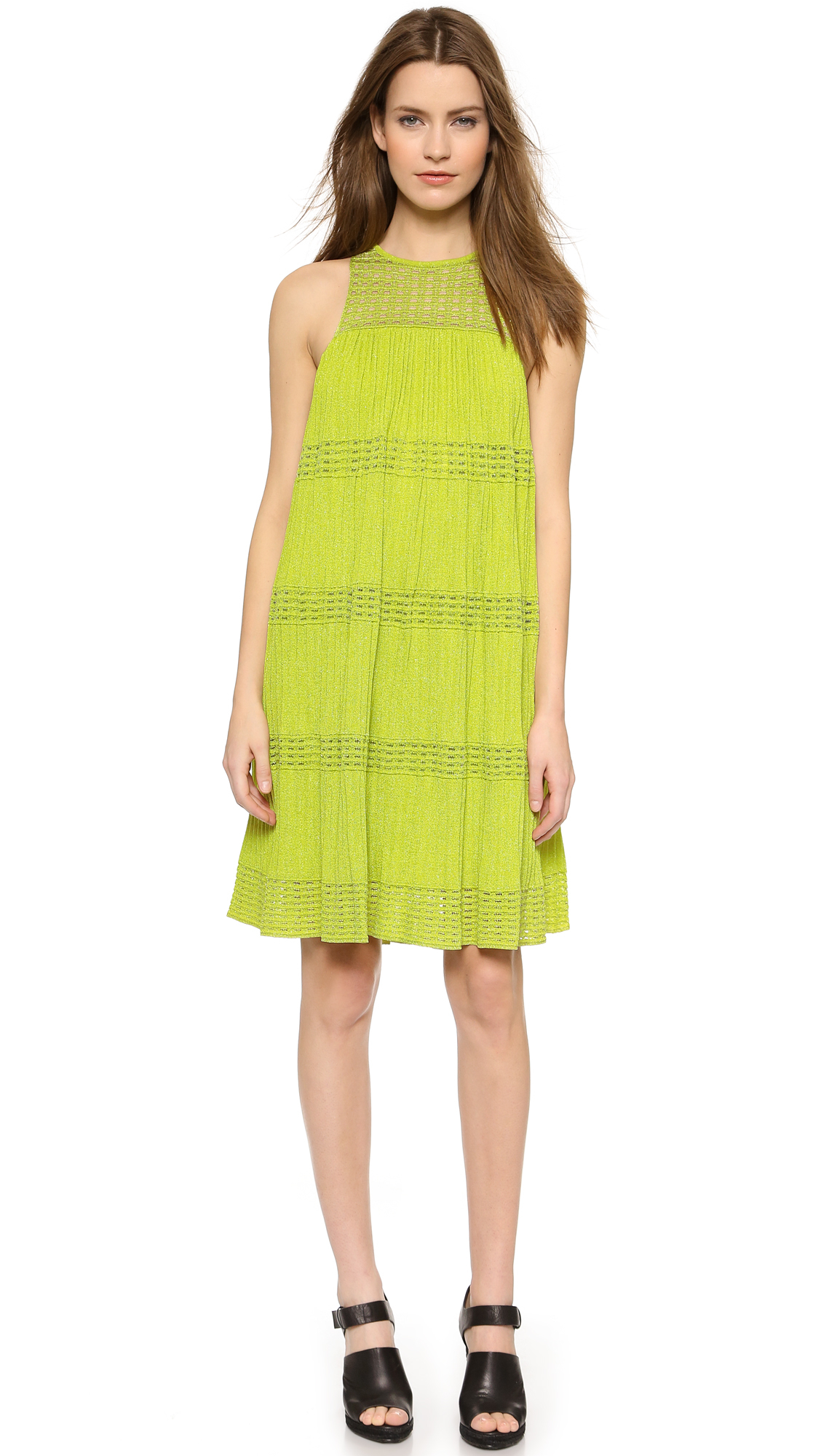 Chartreuse cocktail classic dress