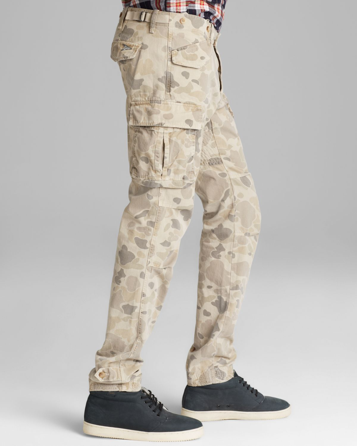 Lyst Gant Perfect Camo Cargo Pants Slim Fit In Natural