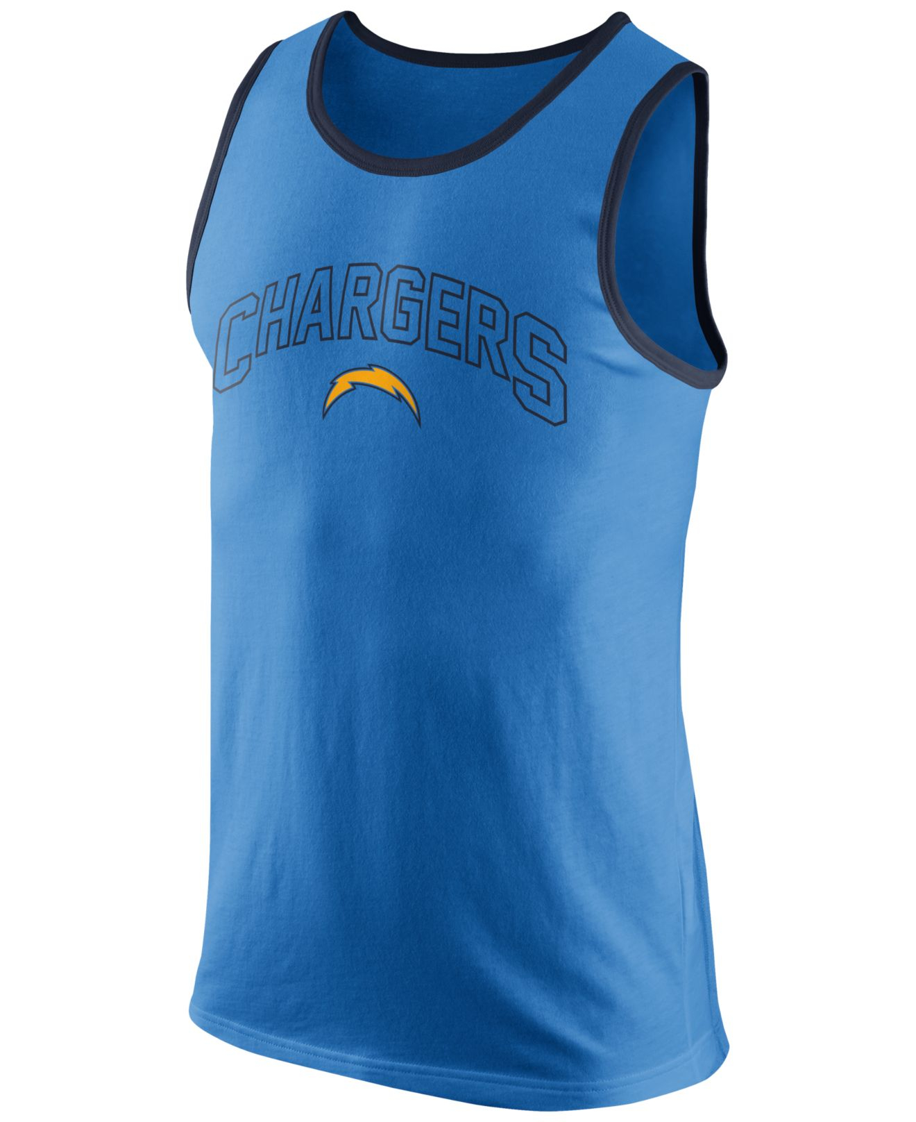 San Diego Chargers Dress: Nike Men'S San Diego Chargers Team Tank Top In Blue For