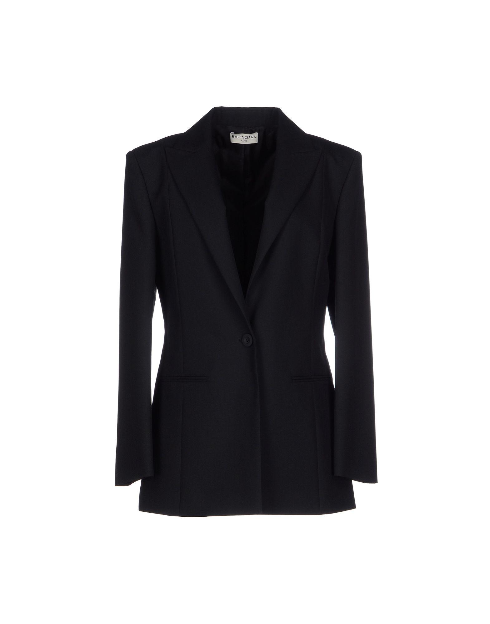 Balenciaga Blazer in Black - Lyst