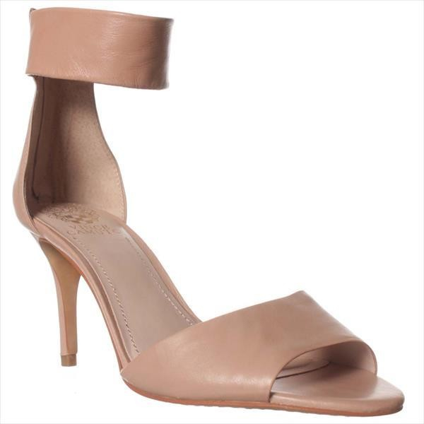 Vince Camuto Leather Noris Ankle Strap Sandal In Pink Lyst