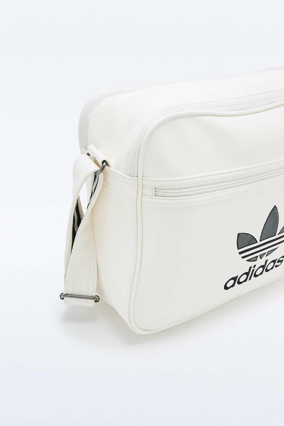 e3e67268f301 adidas Originals Classic White Airliner Bag in White - Lyst