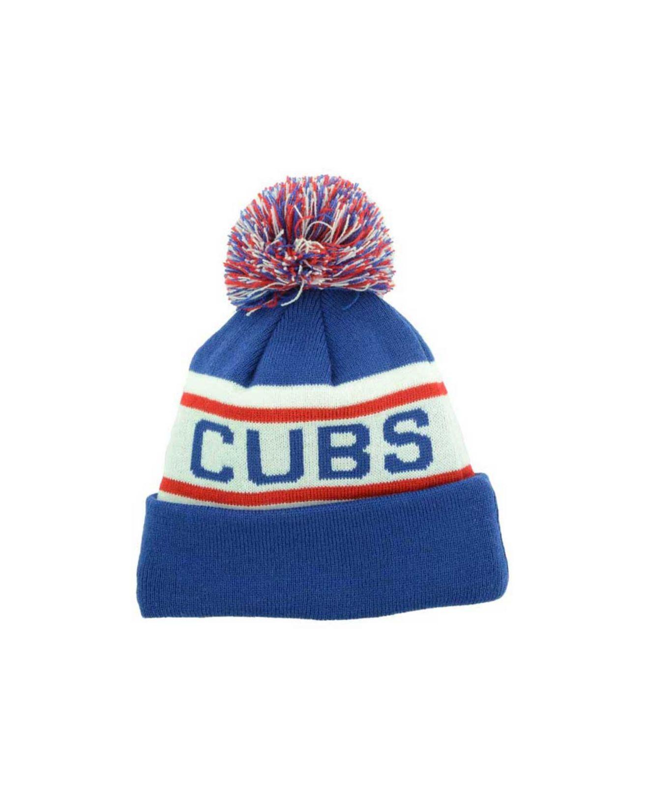 e02bd48bc85 Lyst - KTZ Kids  Chicago Cubs Biggest Fan Knit Hat in Blue for Men