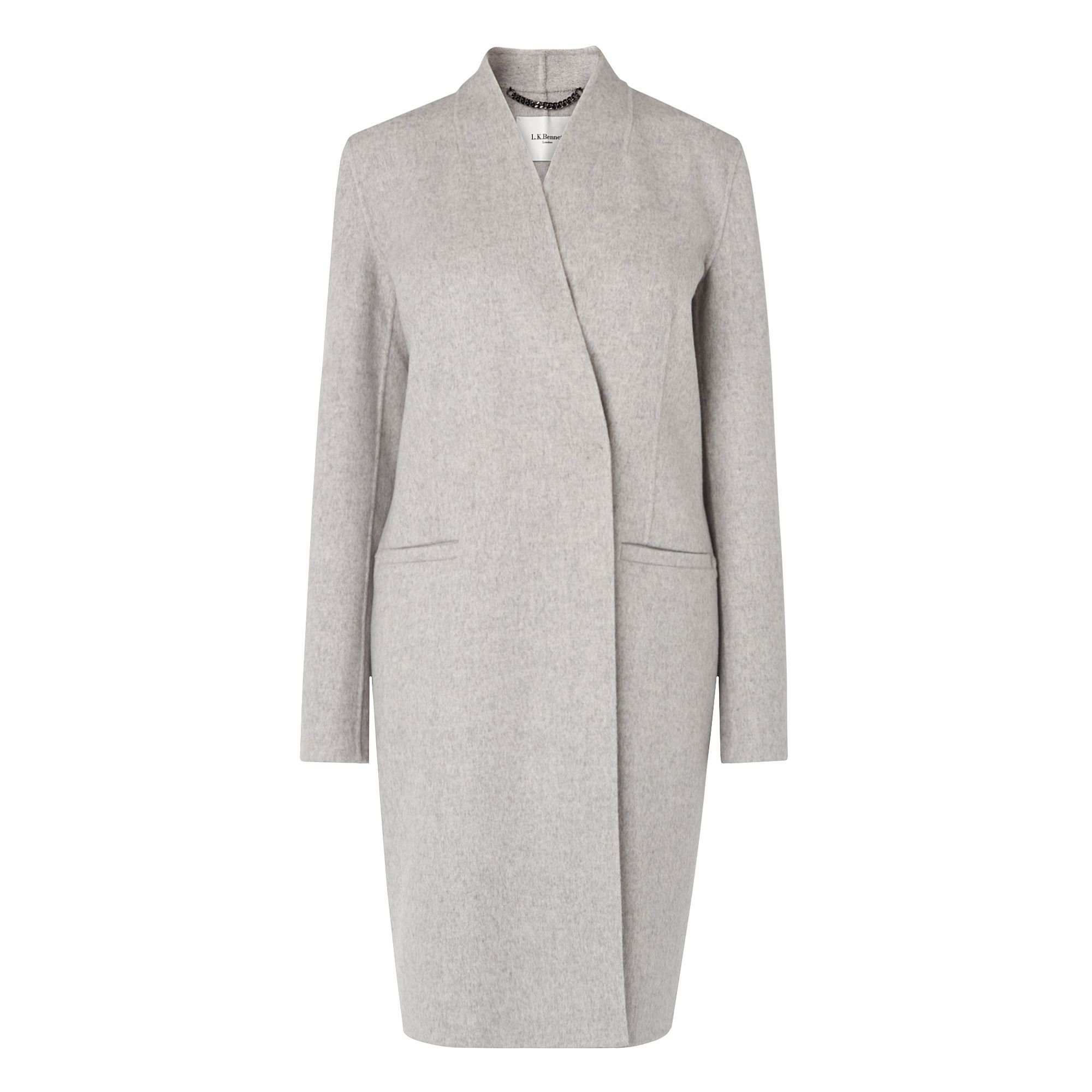 Image result for Sandra Grey Cashmere Coat