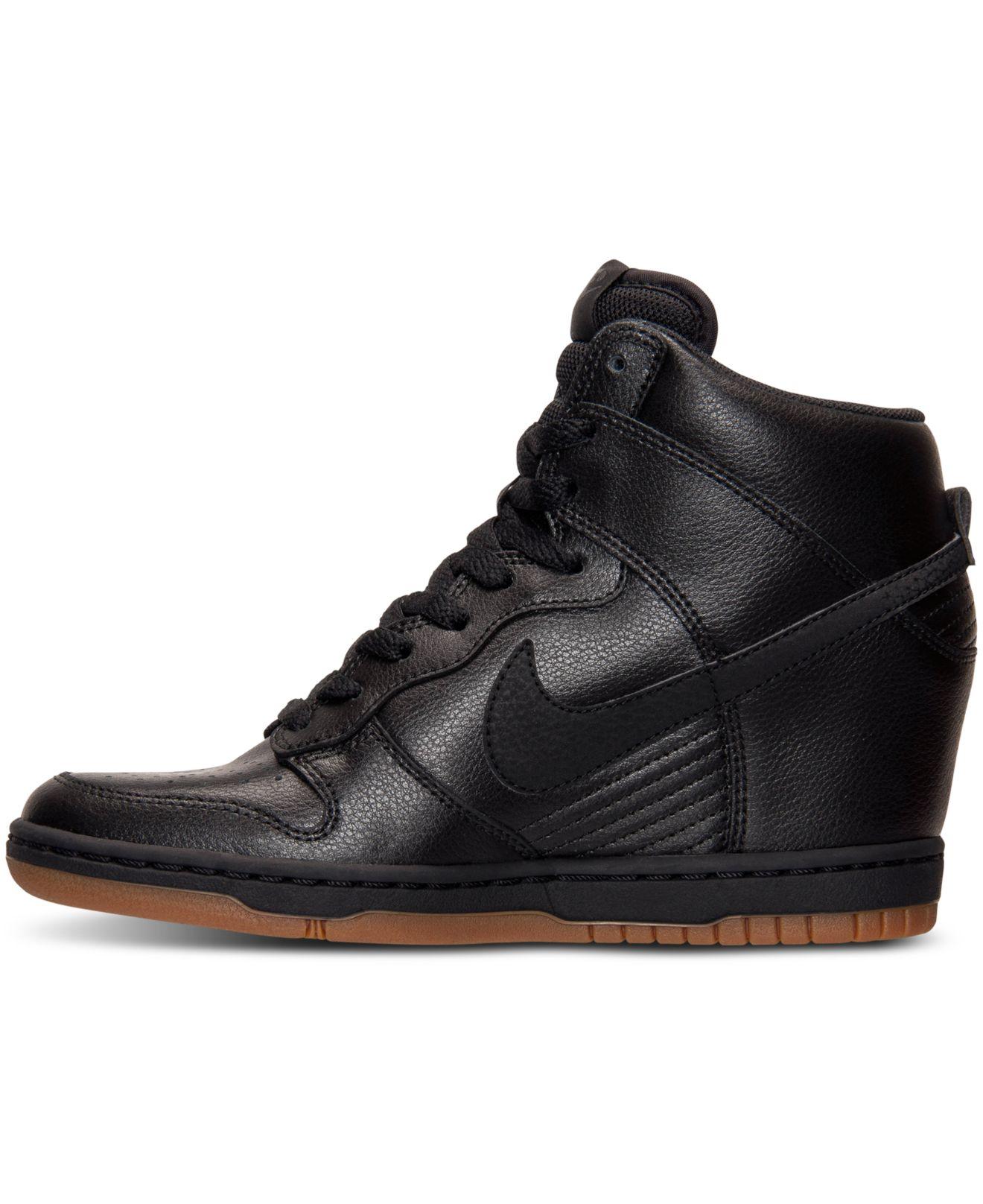 topowe marki sprzedawca hurtowy przedstawianie Dunk Sky Hi Essential Leather Sneakers