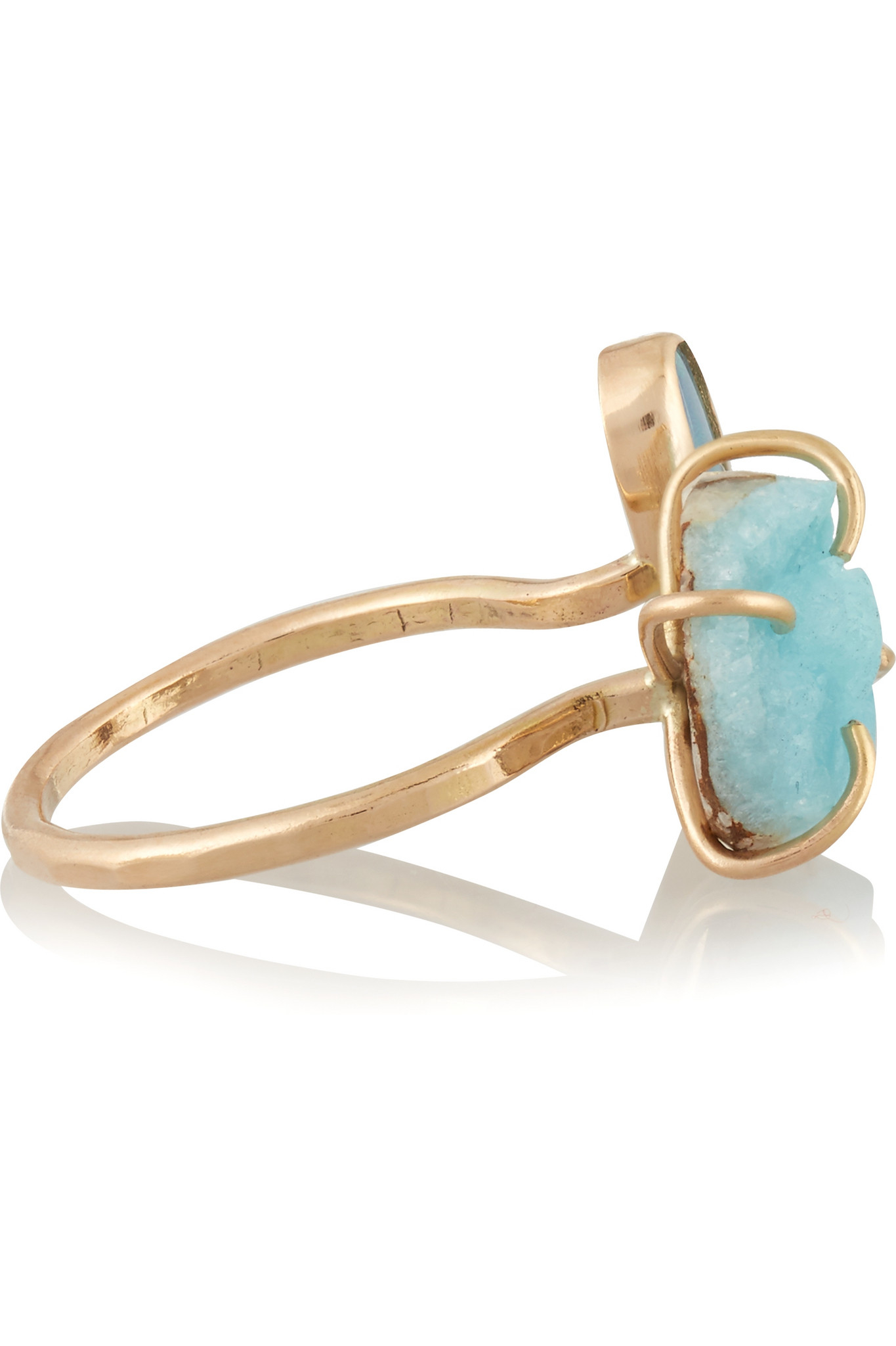 Melissa Joy Manning 14-karat Gold Opal Ring 30kO43Ss