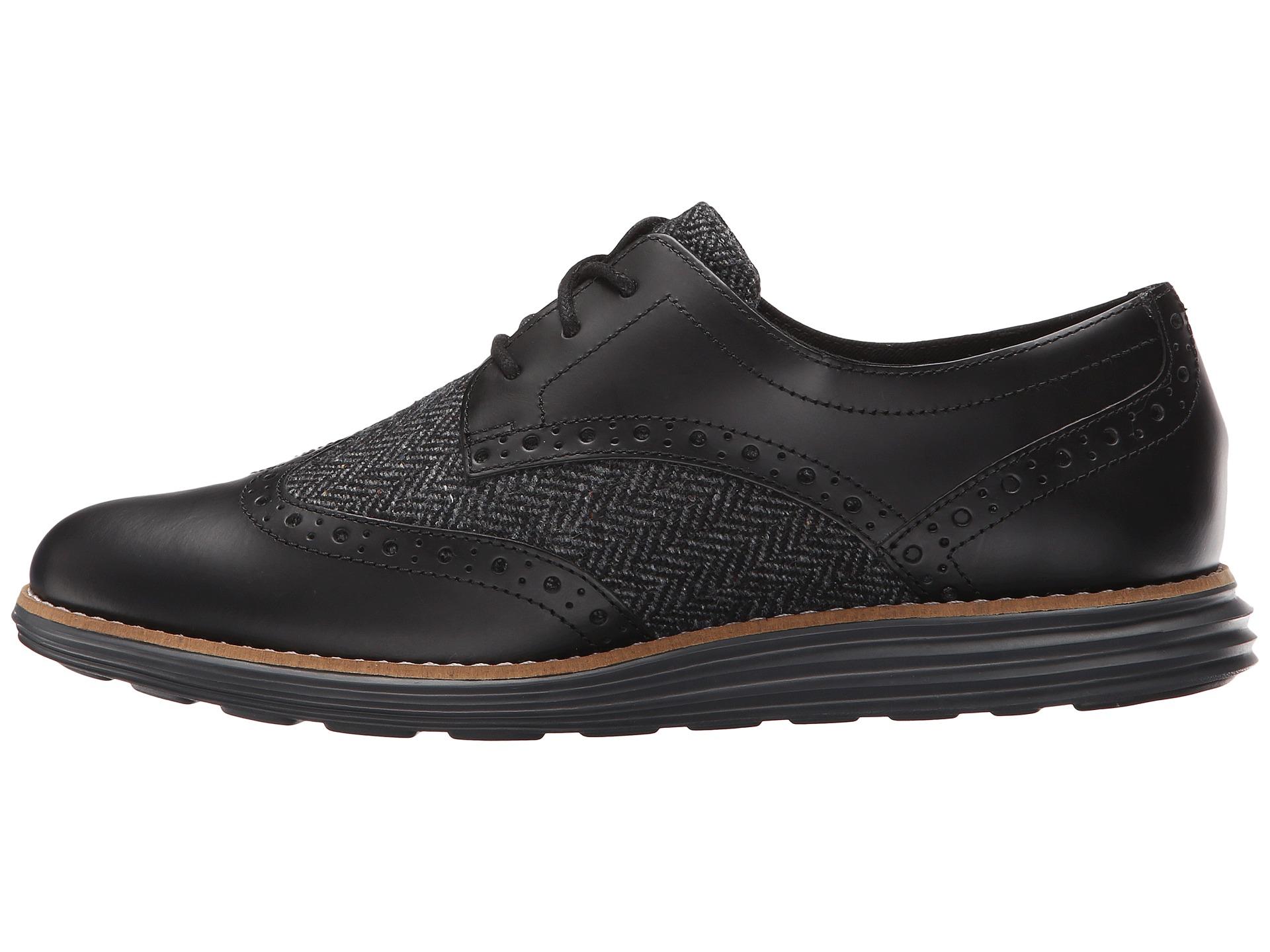 Womens Shoes Cole Haan Original Grand WTIP P112725 Black/Magnet