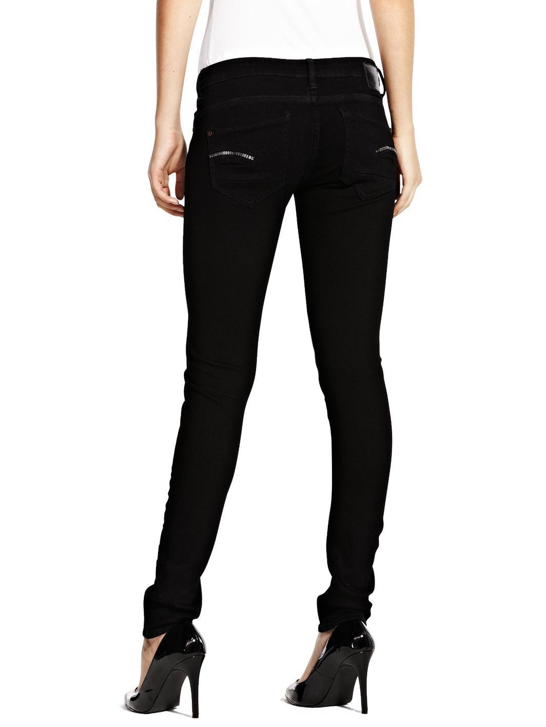 g star raw gstar raw radar smith skinny jeans raw in black. Black Bedroom Furniture Sets. Home Design Ideas