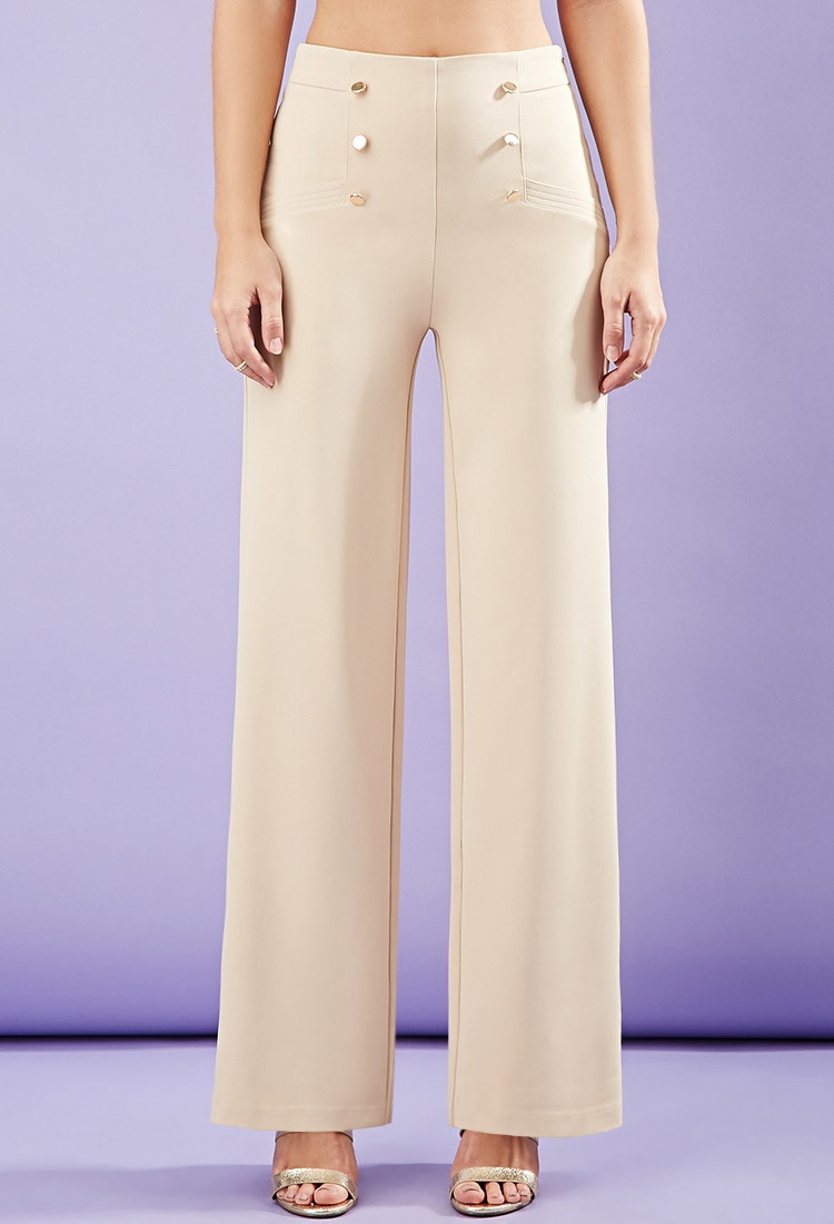 wide leg sailor pants - Pi Pants