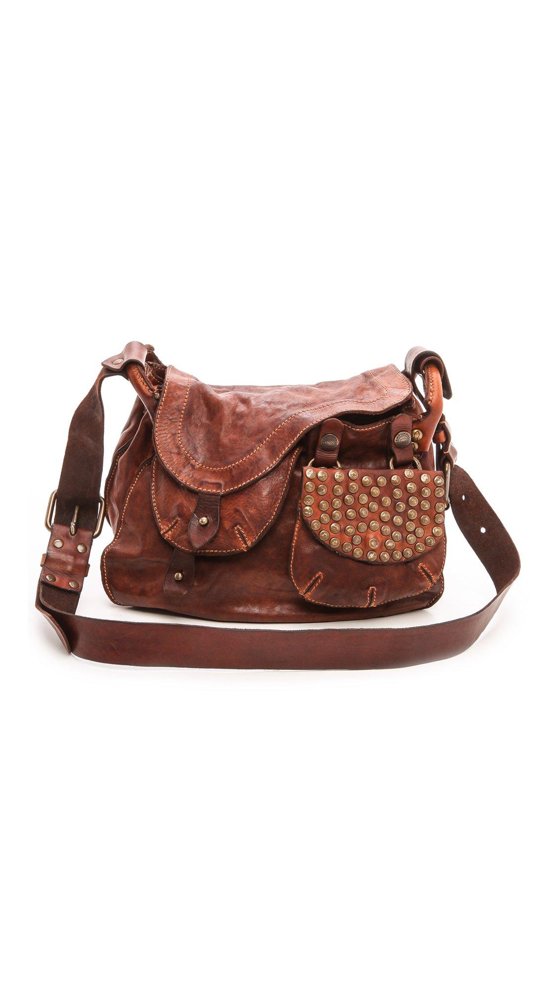 Womens Micro Leather Crossbody Bag Campomaggi pRKTocdGUb