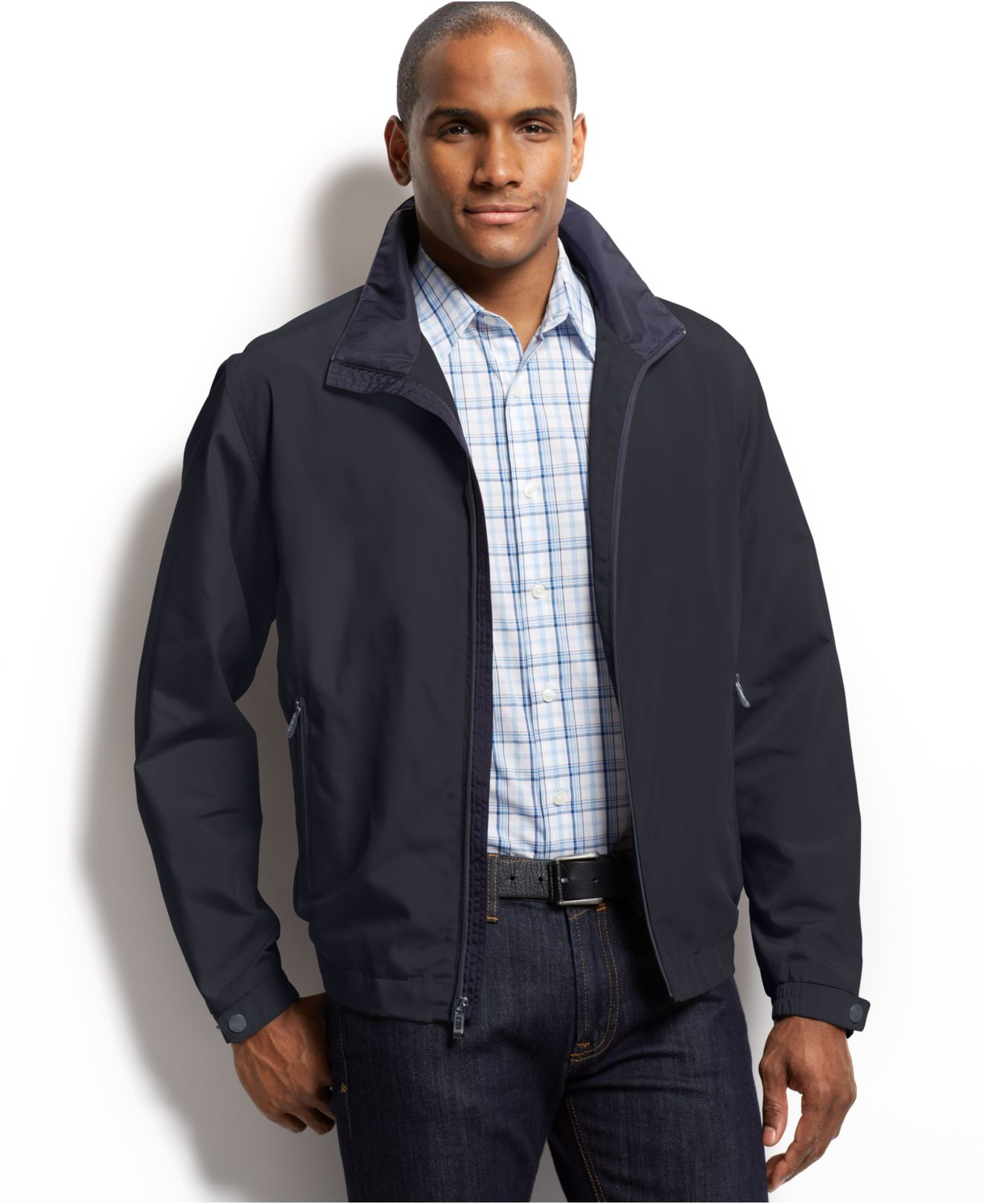 Weatherproof Wind-and-water Resistant Ultra Oxford Bomber Jacket ...