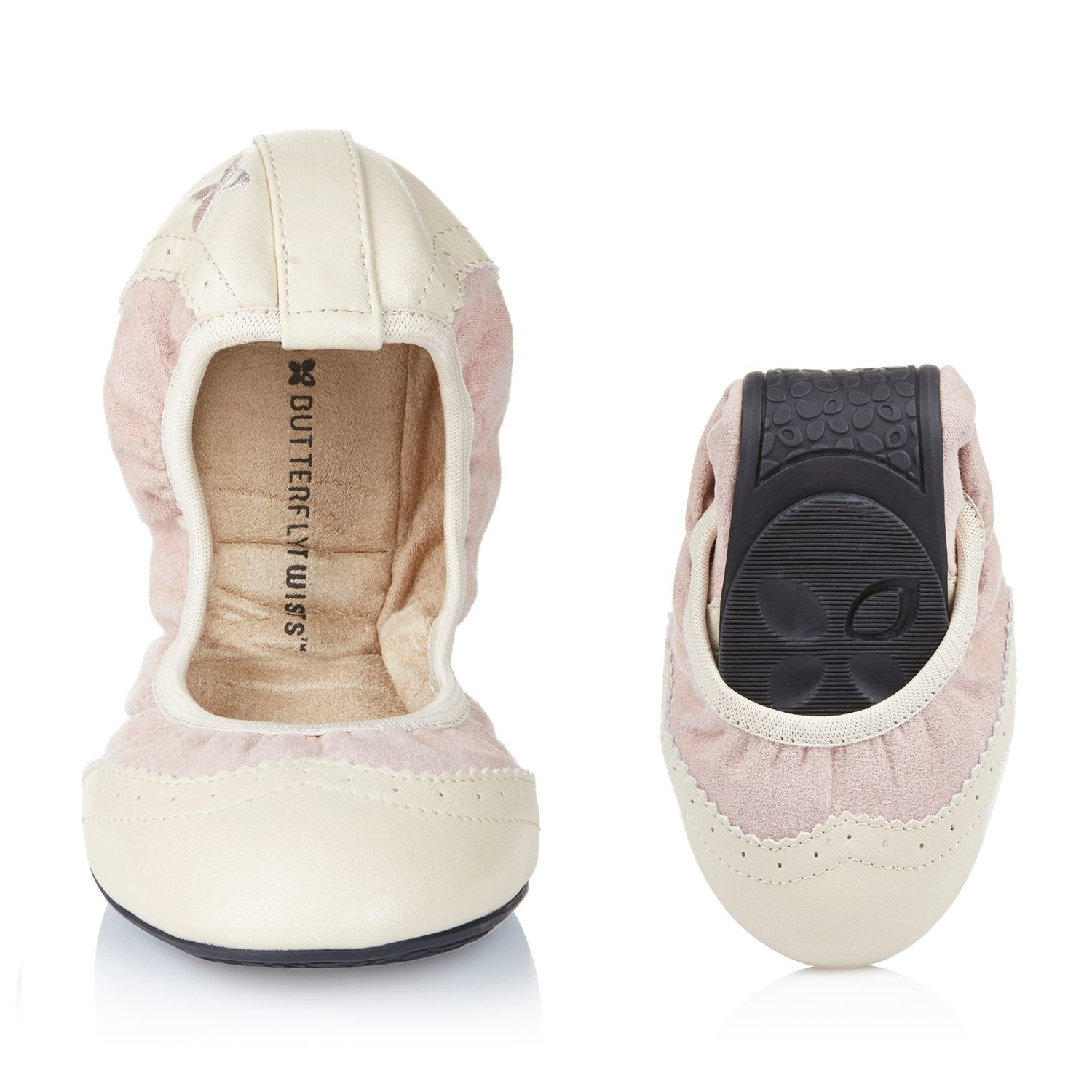 butterfly twists audrey ballerina shoe in pink lyst. Black Bedroom Furniture Sets. Home Design Ideas