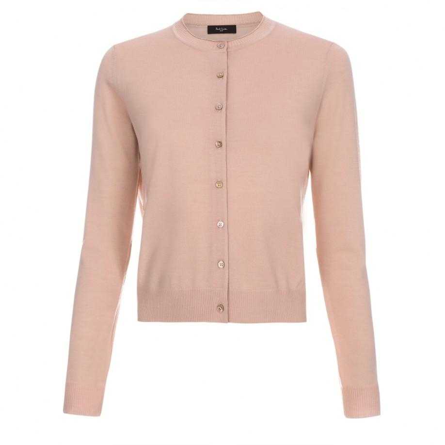 Women'S Cardigan Peach 78