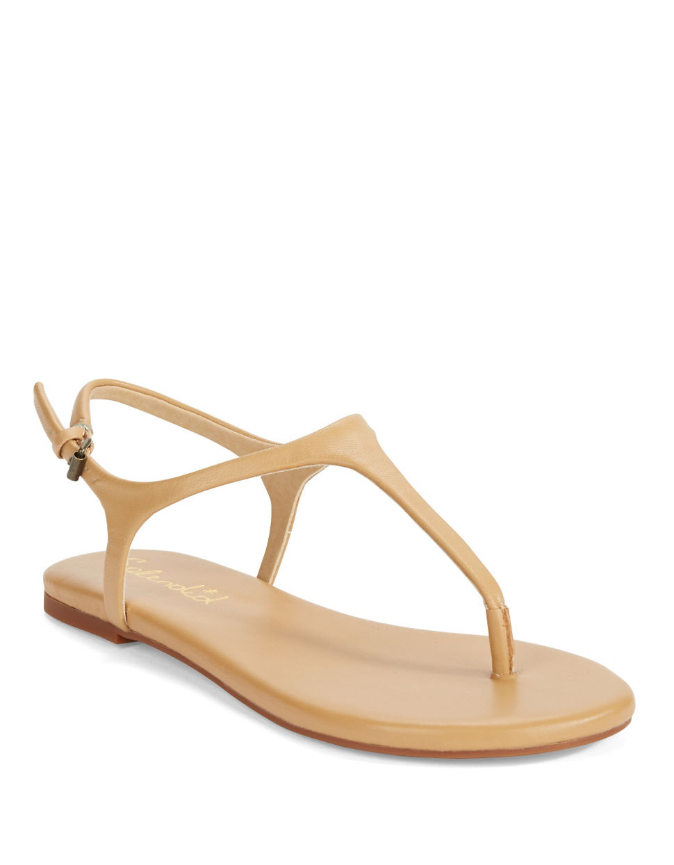Splendid Mason Leather Thong Sandals In Brown Lyst