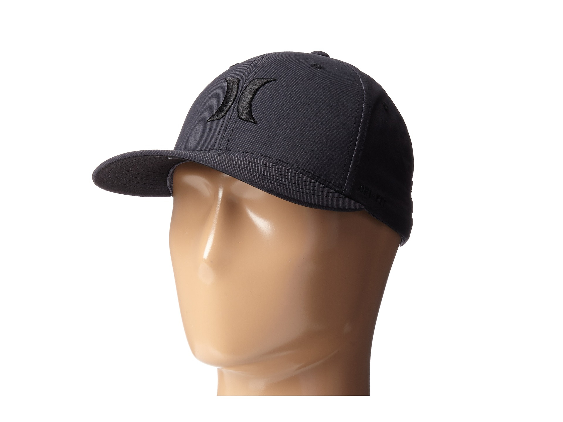 info for 9fe89 2559d ... where to buy lyst hurley dry out flexfit permacurve hat in blue for men  92bbd 4ba5b