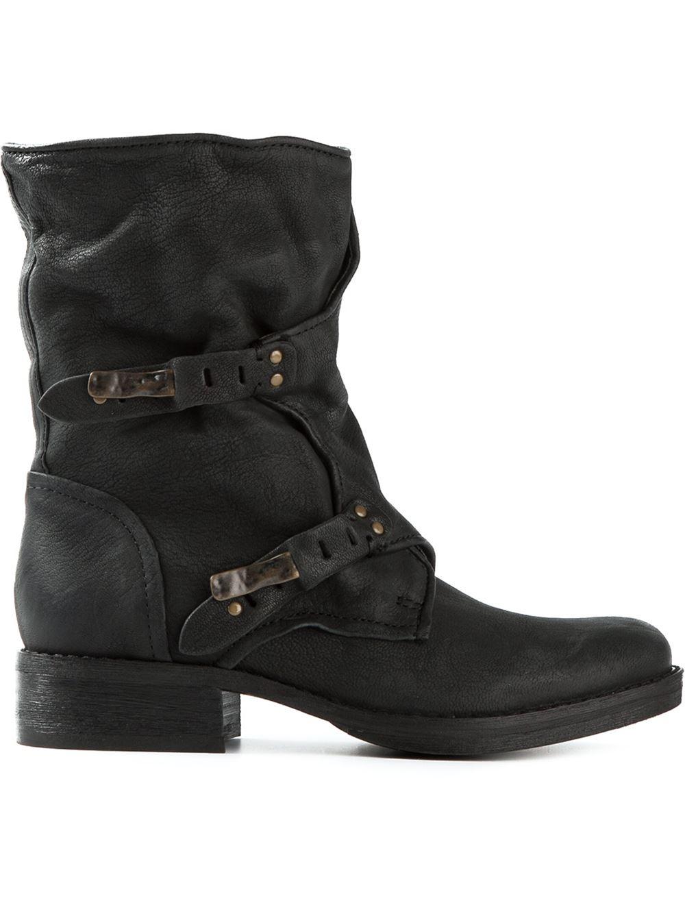 1a0b9a21a1a3b Lyst - Sam Edelman  Ridge  Boots in Black