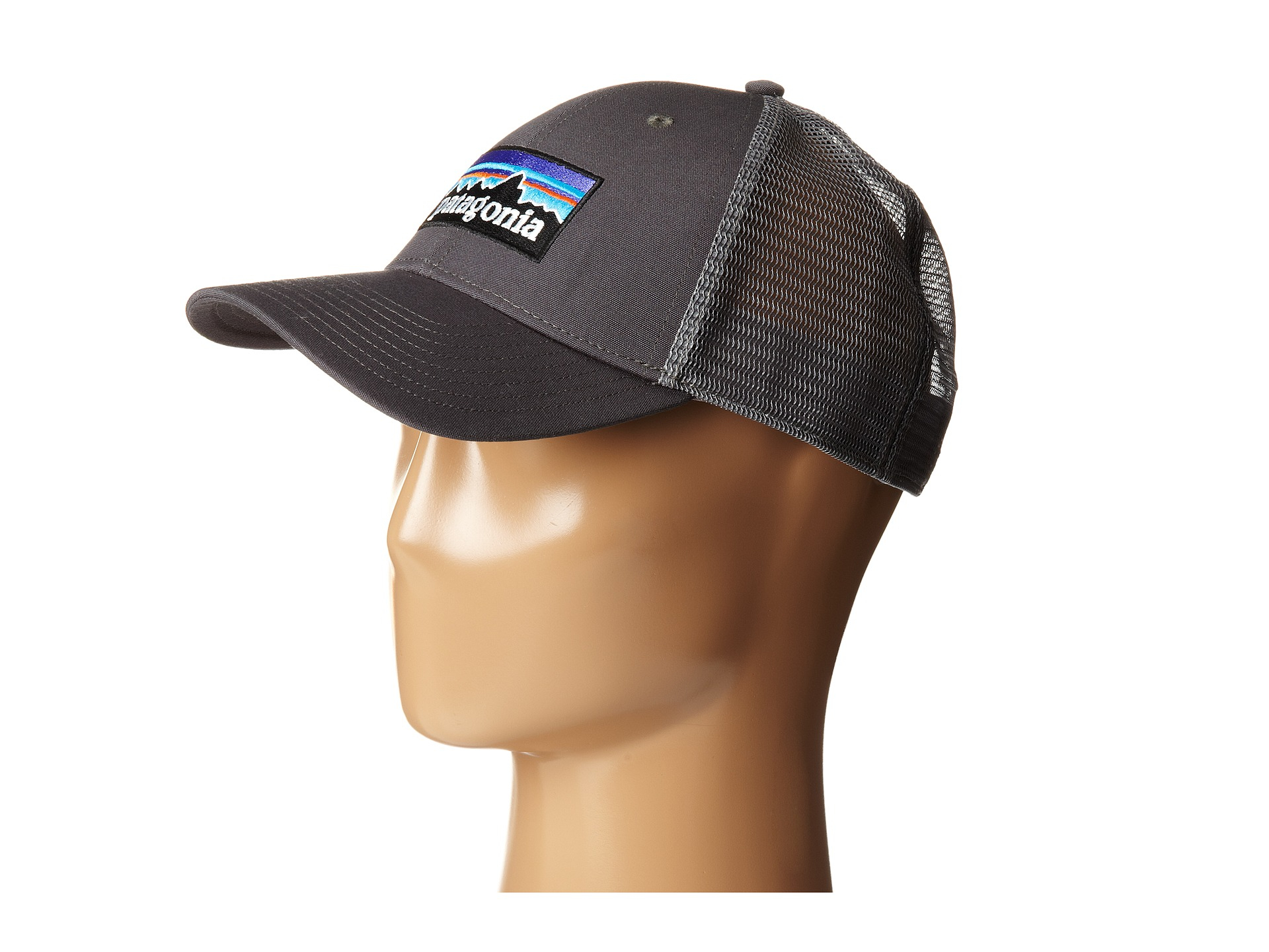 fc24536592407 ... canada lyst patagonia p6 lopro trucker hat in gray for men 482c6 53f51