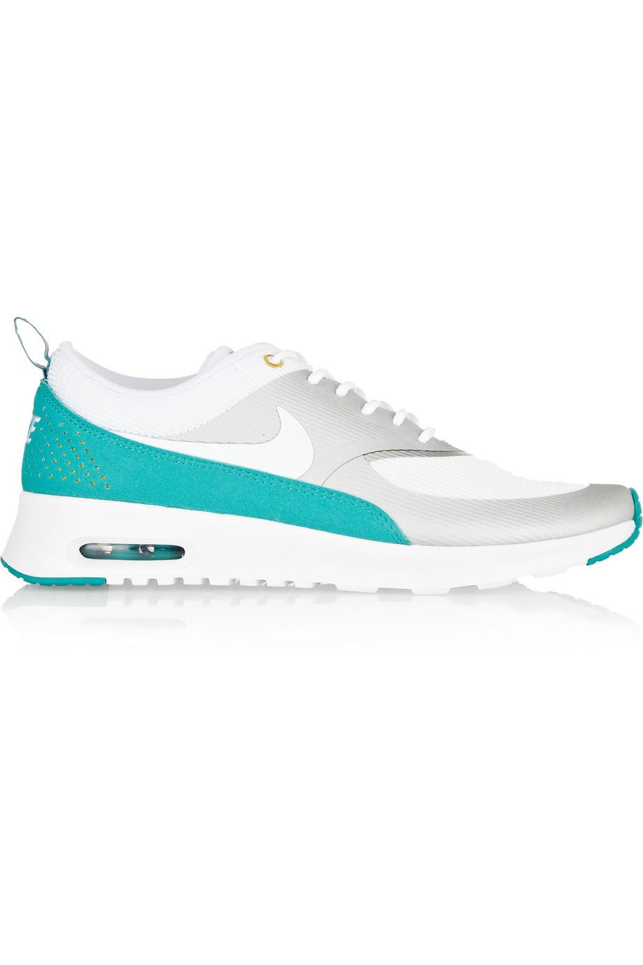 Nike White Air Max Thea Mesh Sneakers