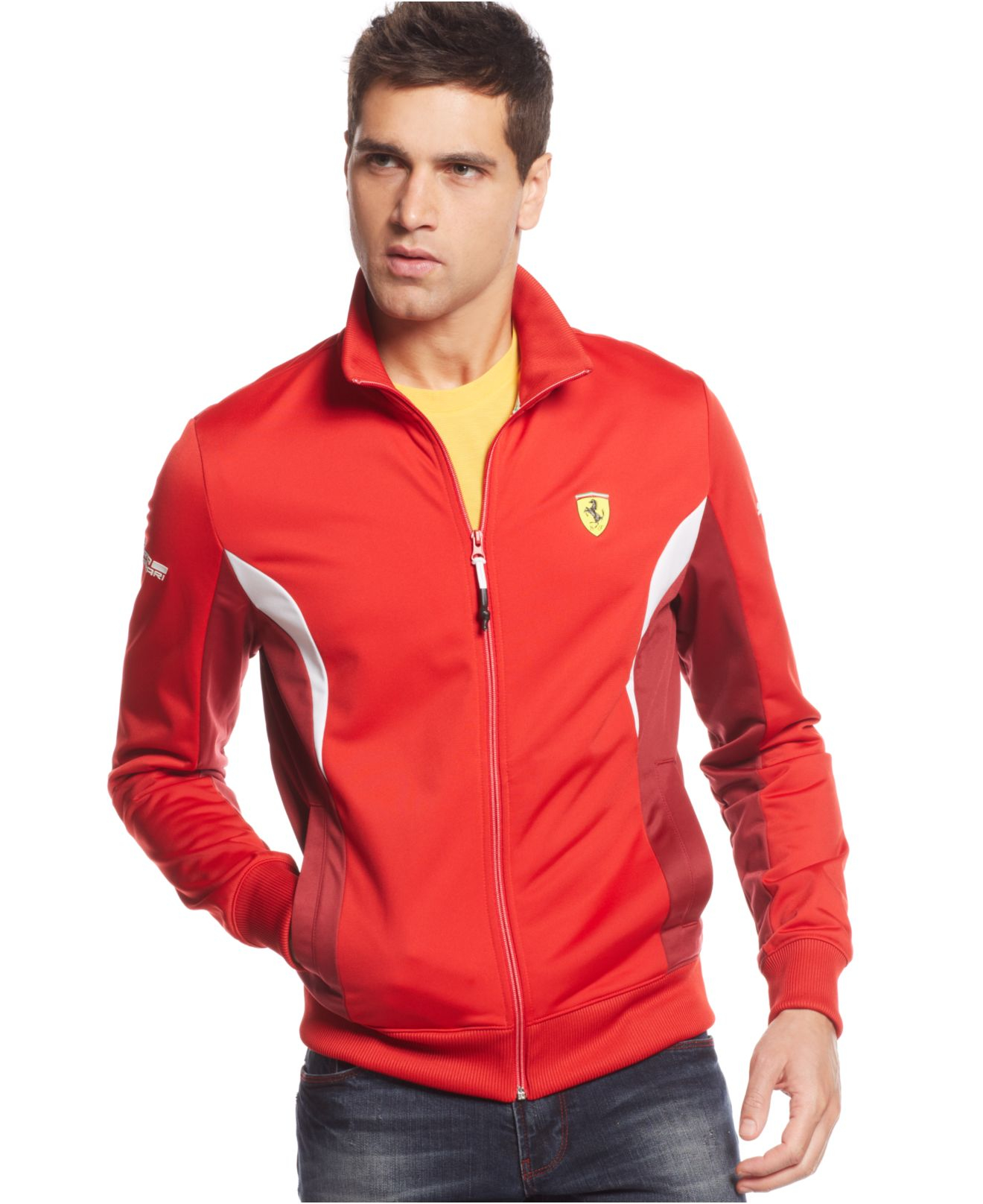 Puma Ferrari Red Track Jacket Cheaper Than Retail Price Buy Clothing Accessories And Lifestyle Products For Women Men