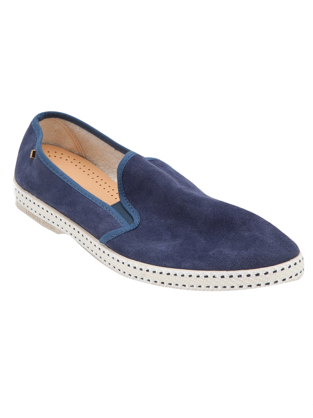 rivieras marine shoe in blue for lyst