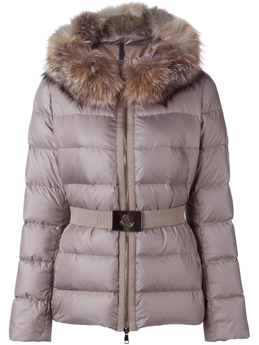 moncler Coats BEIGE