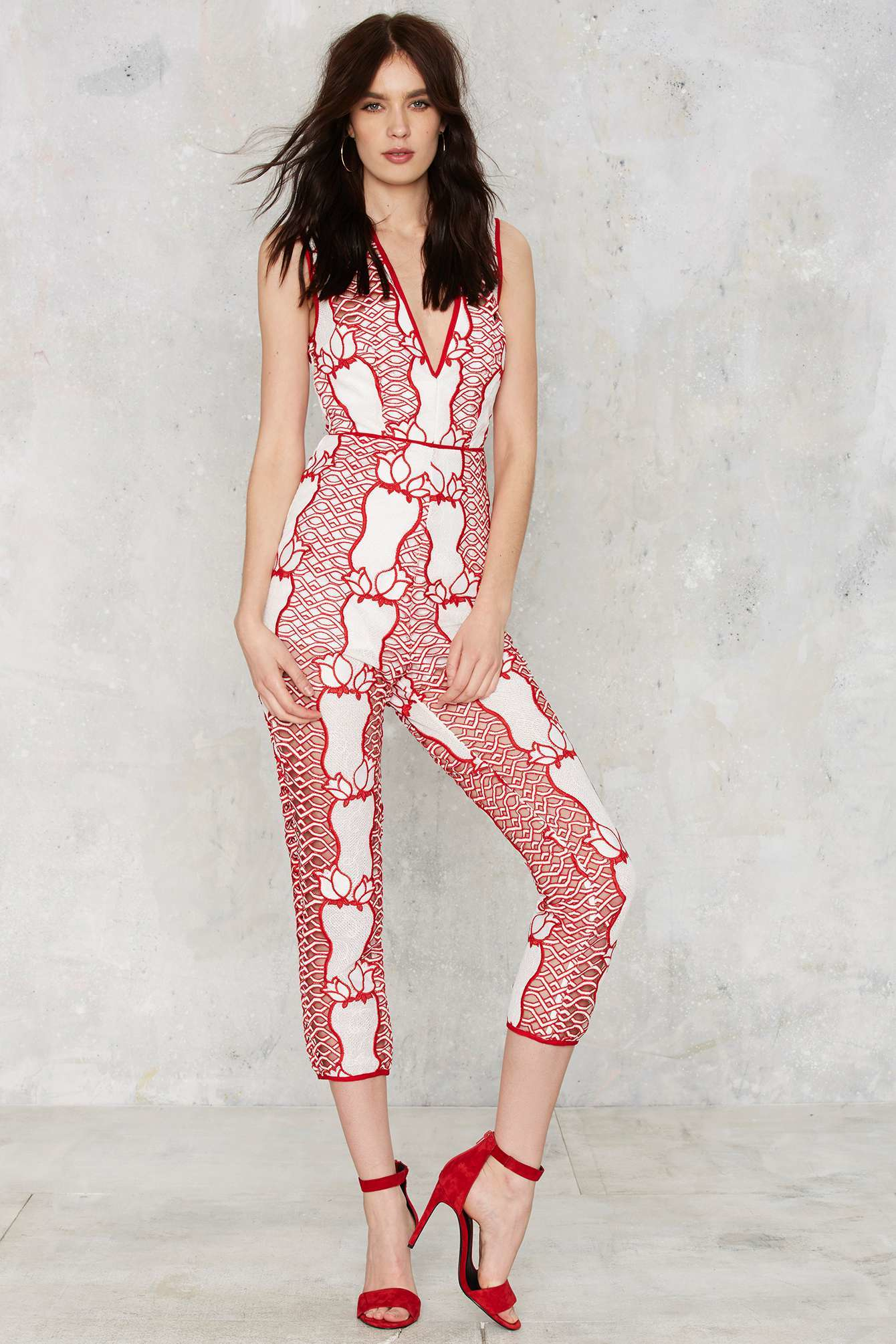 1a0e61b6c1 Lyst - Alice McCALL Call It s What I Want Crochet Jumpsuit in Pink