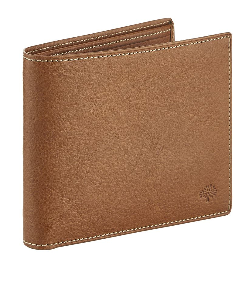 f9a479b65f78 Mulberry Leather Bifold Wallet in Brown for Men - Lyst