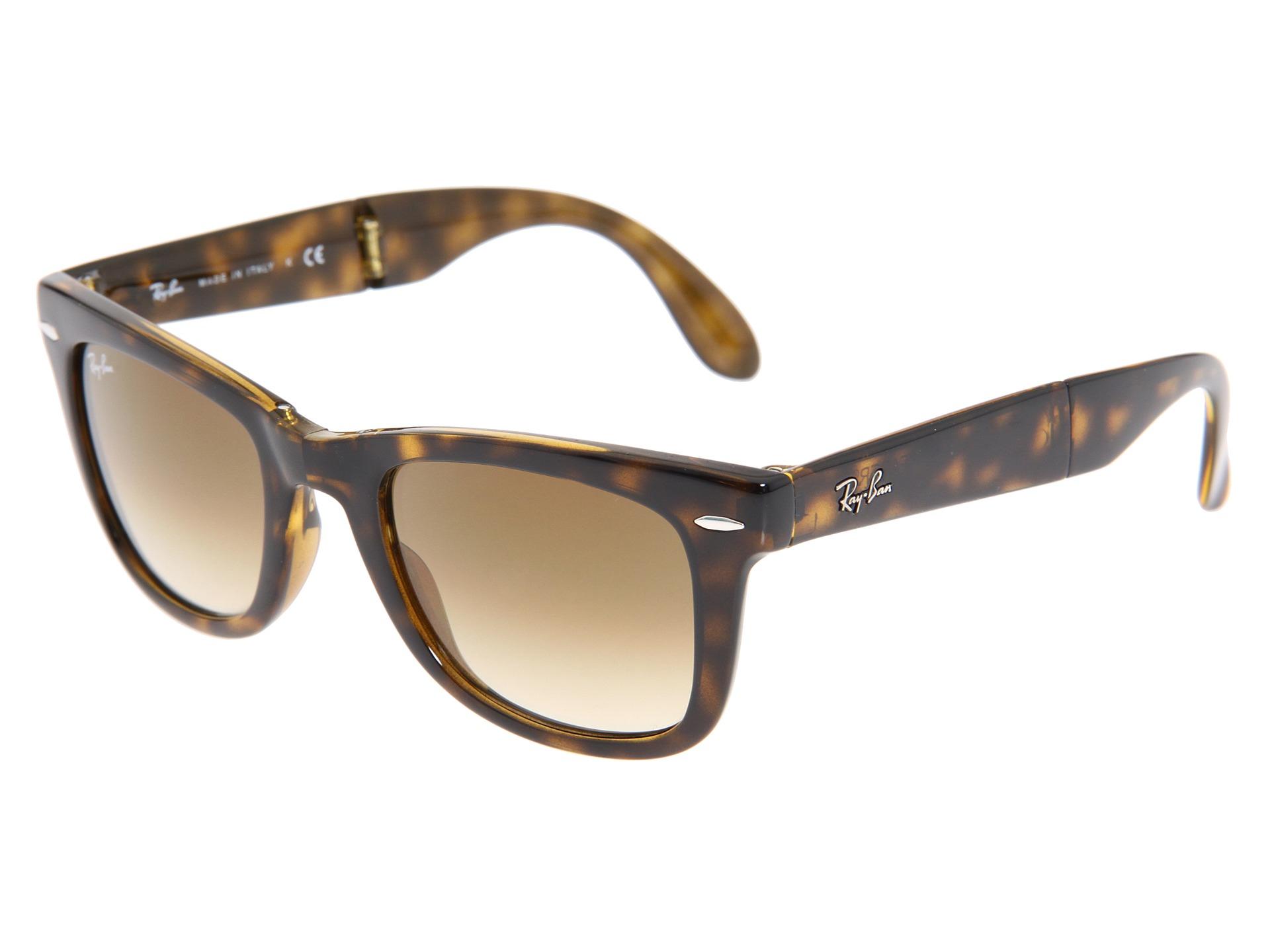 5236c2fe68 Ray Ban Womens Rb4105 Folding Wayfarer Sunglasses « Heritage Malta
