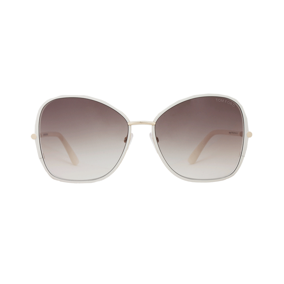 d1ef8ac0784 Lyst - Tom Ford Solange Metal Sunglasses in Metallic