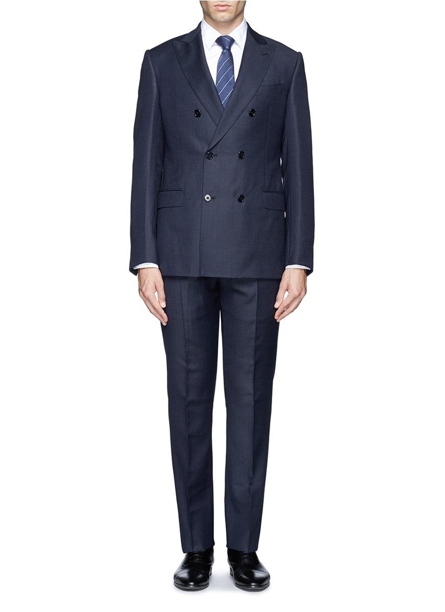 Blue Suit Belt Color
