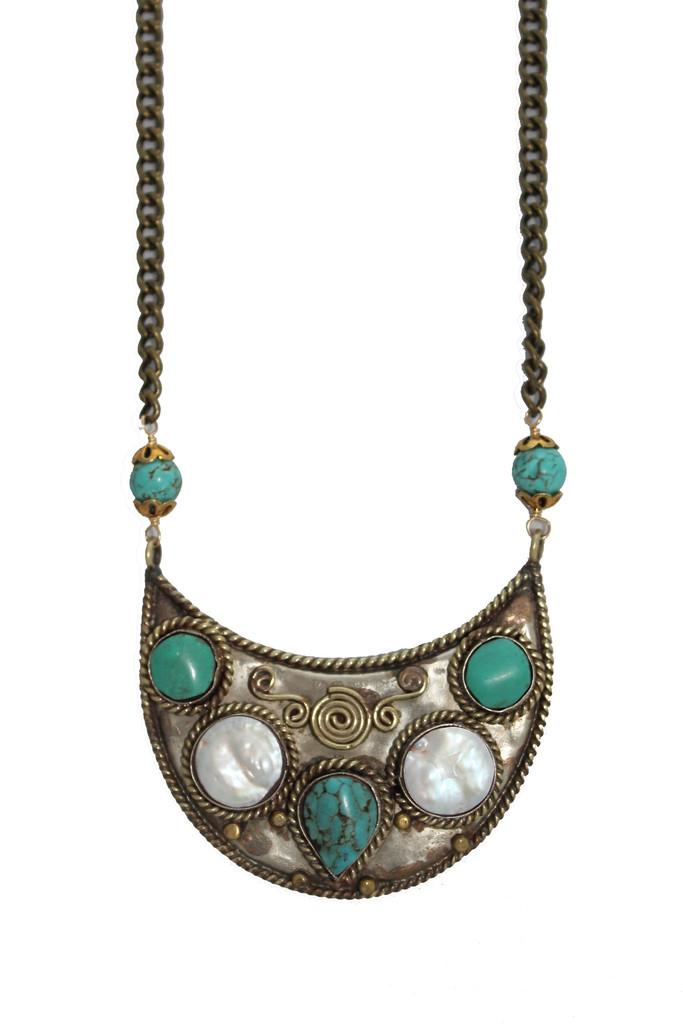 natalie b jewelry tulum necklace in multicolor lyst
