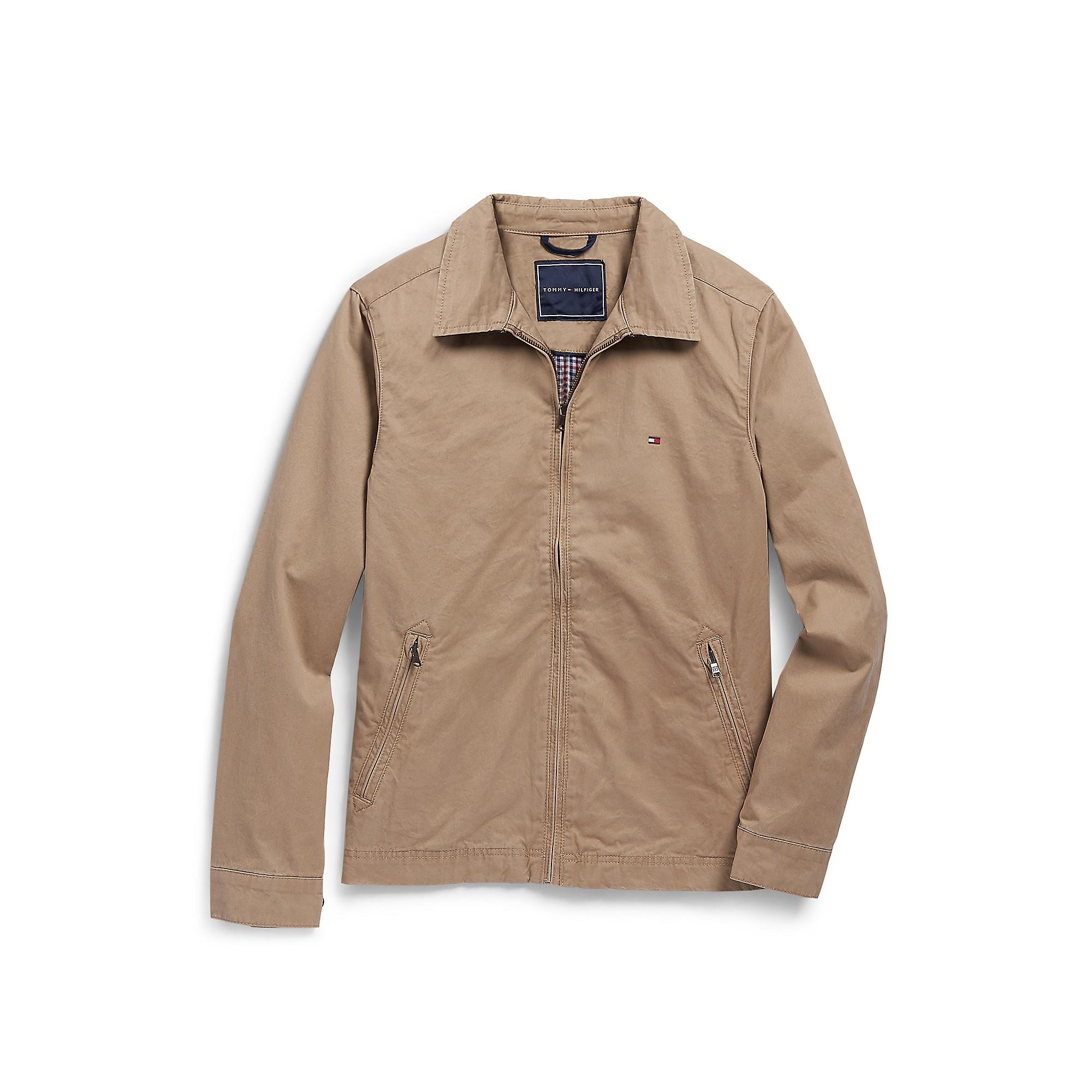 tommy hilfiger perry jacket in khaki for men vintage. Black Bedroom Furniture Sets. Home Design Ideas