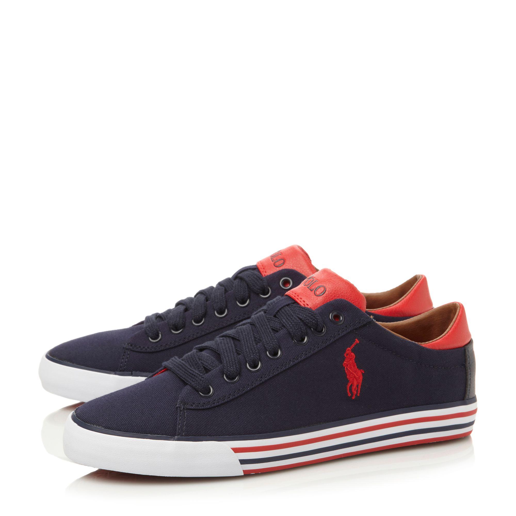 Polo Ralph Lauren Harvey Ne Black Sneakers  Men