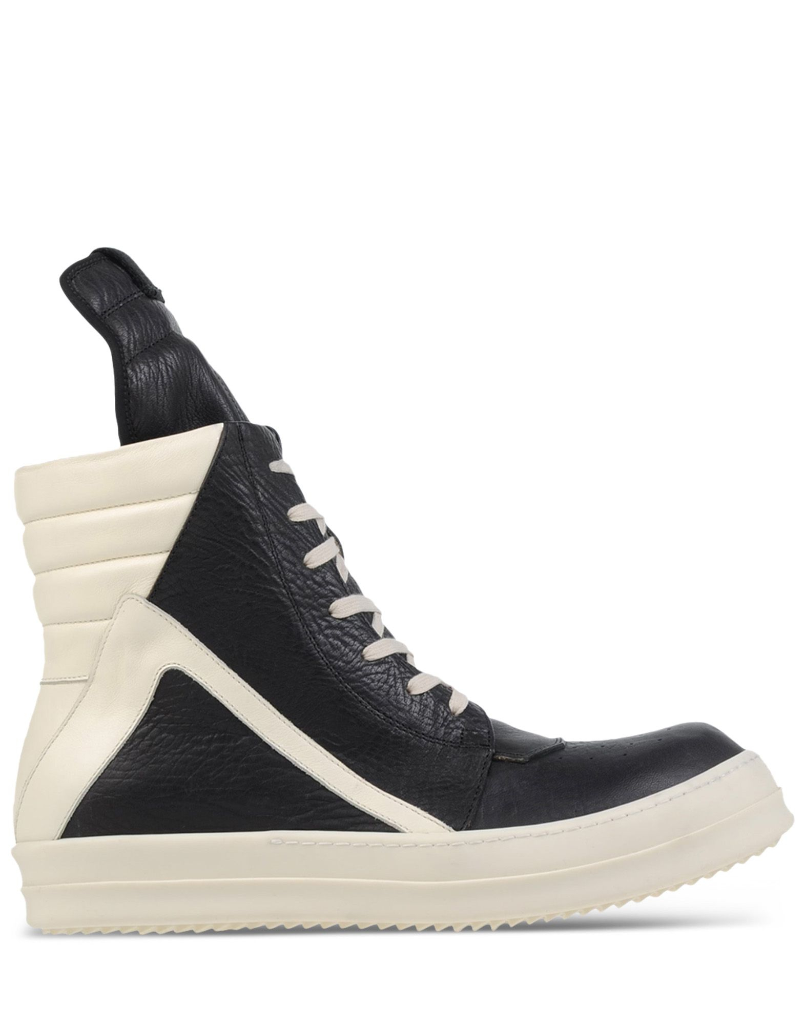 rick owens high top sneakers in black for men lyst. Black Bedroom Furniture Sets. Home Design Ideas