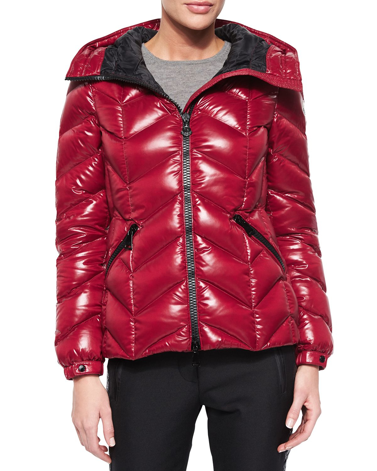 Moncler Badete Hooded Down Shell Jacket In Black Lyst