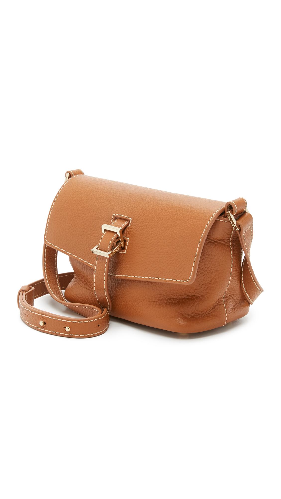 meli melo Maisie Micro Cross Body Bag in Tan (Brown)