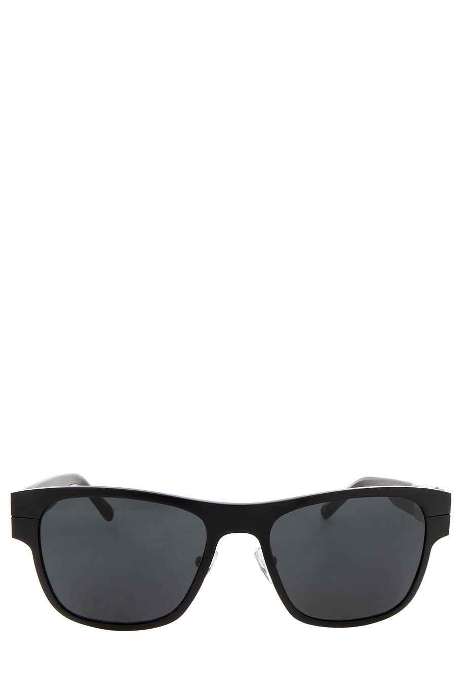 3 1 phillip lim black aluminium sunglasses in black for