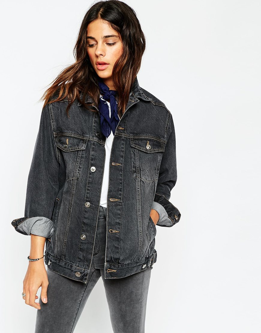 Free shipping BOTH ways on womens black denim jacket, from our vast selection of styles. Fast delivery, and 24/7/ real-person service with a smile. Click or call