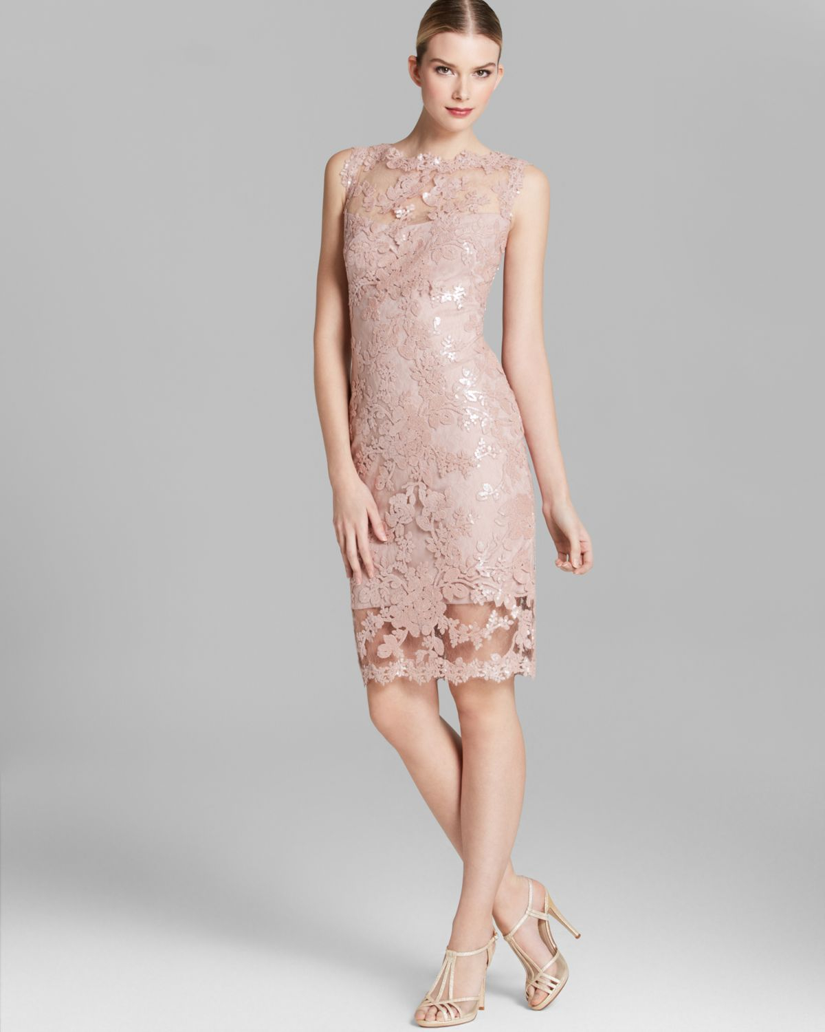 Tadashi Illusion Lace Gown _Other dresses_dressesss
